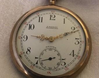 S. Hadley Frankford Ontario Pocket Watch - Regina Watch Co.