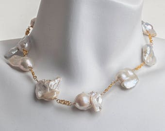 One of a Kind Pearl LAINE HOADLEY necklace