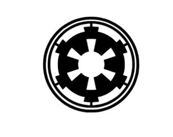 Star Wars ROGUE ONE Imperial Symbol Quality Vinyl Decal, Yeti decal, car decal, Disney