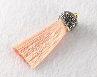 Tassels DIY Craft Supplies beige Jewelry tassels Chunky tassel Short Boho tassels Small tassels Fringe Trim Womens Gift