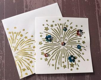 Handmade Card | Sending a Smile Handmade Card | No Occasion Card | Blank Handmade Card
