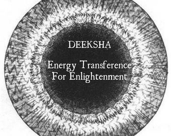 Energy Transference for Enlightenment.