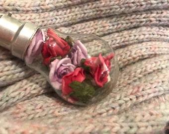 Impossibulb Roses in a Bulb