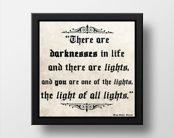 Bram Stoker Dracula Quote Poster Wall Art
