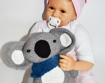 Amigurumi Koala Crochet Koala Stuffed Knitted Koala  Amigurumi crochet animal  Koala Plush Toy