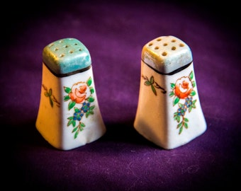Vintage Salt & Pepper Shakers - Japan