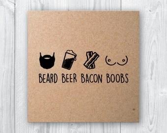 BBBB - Beard Beer Bacon Boobs