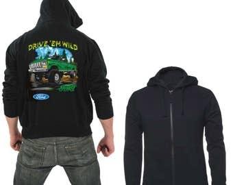 Zipper hoodie drive em wild ford
