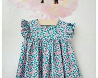 flower fabric/mint fabric/cotton fabric/cool fabric/living fabric/kids fabric/babyfabric/dress fabric/ Garden Flower