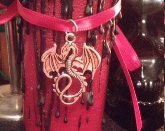 Dragon's Blood Ritual Candle
