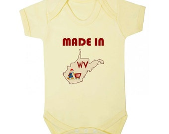 West virginia onesie