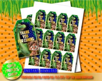 The Good Dinosaur Digital  Printable Favor Tags, Custom Party,The Good Dinosaur ,Birthday,Party, Supply, Kit, Pack, Custom