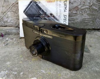 Vintage Purma Special.  Classic British made 127 Film Camera