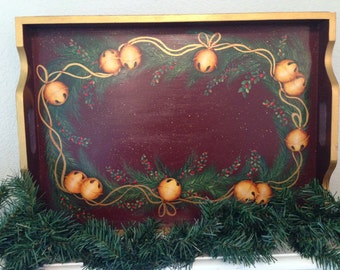 Holiday Bell Tray