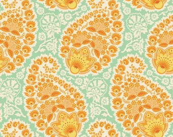 Joel Dewberry Heirloom Paisley in Amber Fat Quarter