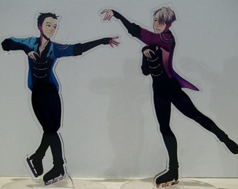 Duet: Stay Close to Me - Yuri!!! On Ice Charm&Standees
