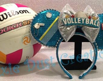 Volleyball Minnie Ears Headband