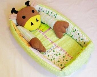 Babynest,Big Developing Play Mat,sleep bed, cot,baby cocoon,baby nest pattern,sleep nest,baby nest,Quiet Time Mat, Activity, Montessori.