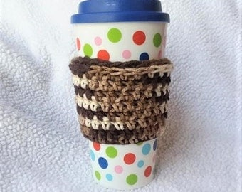 Crochet Cup Cozy, Coffee Sleeve, Coffee Gift, Coffee Cup Cozy, Cup Sleeve