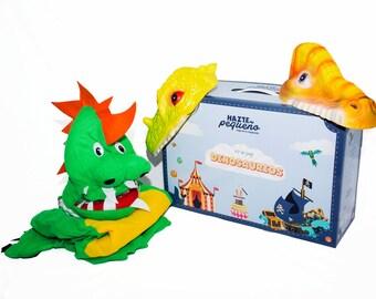 DINOSAURS - dinosaur costume KIT (2 adults + 1 child)