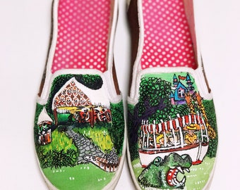 Disney inspired jungle cruise shoes