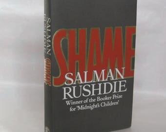 Shame. Salman Rushdie. 1st. Edition.