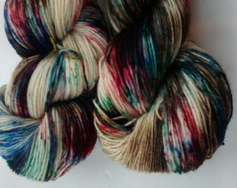 Bodleian: superwash 4-ply BFL