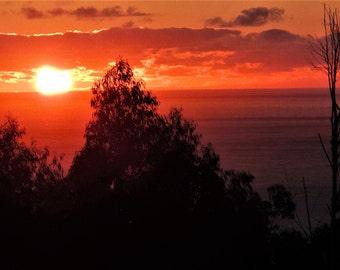 Sunrise 04. In Acrylic Glass Print
