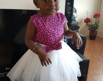 Dress baby pink tulle