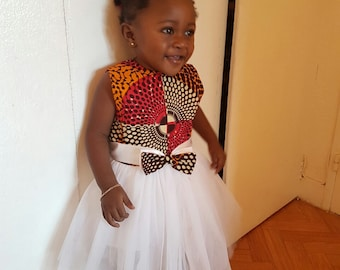 Dress baby tulle