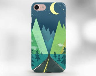iPhone 6 Case Forest iPhone 6s Case iPhone 6 Plus Case iPhone 6S Plus Case Phone Case iPhone SE Art Case Wood Case iphone 7 plus mountains