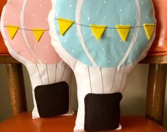 Hot Air Balloon Pillow
