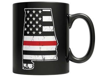 Limited Edition Firefighters - I fight what you fear Alabama Brotherhood Mug