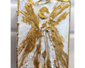 Angel Decor, angel painting, nursey art
