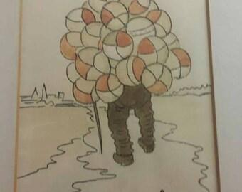 """Constantine Kostya """"The Balloon Man """""""