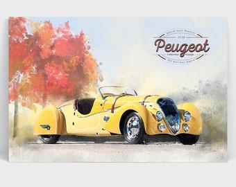 Peugeot Sport Roadster 1937
