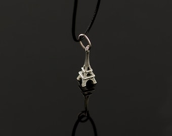 Eiffel Tower Pendant, Sterling Silver, Weight 1,70g.