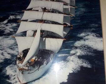 T.S. Kaiwo Maru Final Voyage Photo Signed by Captain Yamaguchi