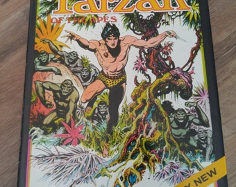 TARZAN By Edgar Rice Burroughs 1972 Hardback  Illustrated by Burne Hogarth comic style book