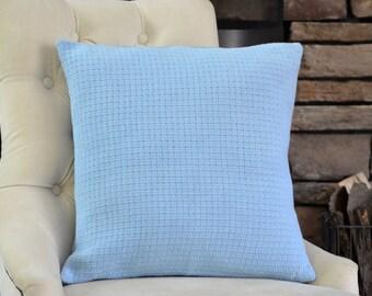 Sky Blue Pillow Cover