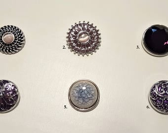 Snap Buttons, Snap Charms