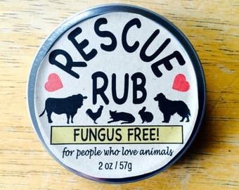 Rescue Rub - Fungus Free!