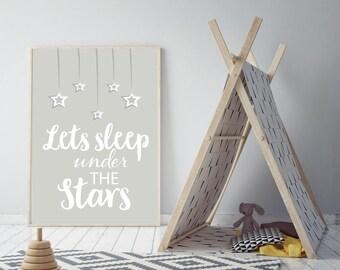 Lets Sleep under the Stars