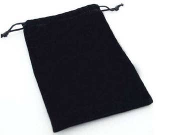 High Quality Velvet Jewellery Bags, Perfect for Gift Pouches, Cufflinks, Ear Rings, Available In Two Sizes