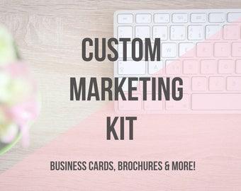 Custom Logo & Marketing Kit | Small Business | Branding Design