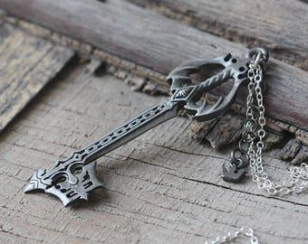 Kingdom hearts oblivion keyblade pendant necklace C476N