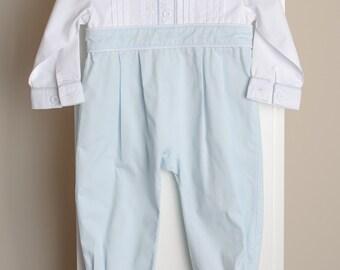 Beautiful baby boy one piece romper 100% cotton