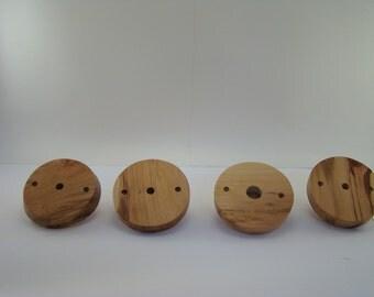 Chandelier/pendant light canopy, custom wood, handmade, homemade, beautiful woodgrain, lighting parts, Made in the USA.