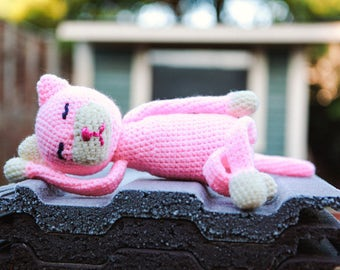 Crocheted Toy Kitty
