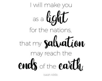 Isaiah 49:6b